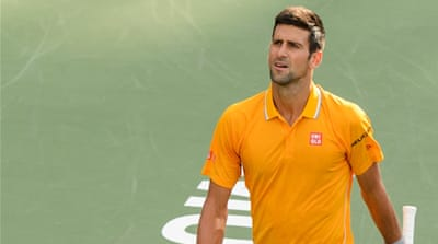 Djokovic has lost just three times this year [Eric Bolte-USA TODAY Sports]