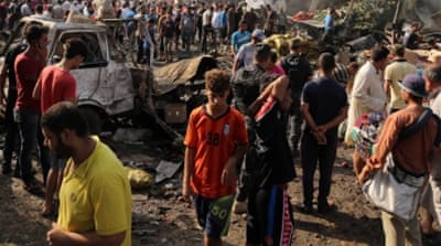 ISIL claims deadly truck bombing at Baghdad market