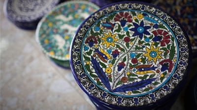 Growing the traditional art of Palestinian ceramics
