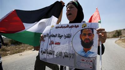 Many Palestinian political prisoners have embarked on hunger strikes as a form of non-violent protest against the authorities, writes Gordon [Reuters]
