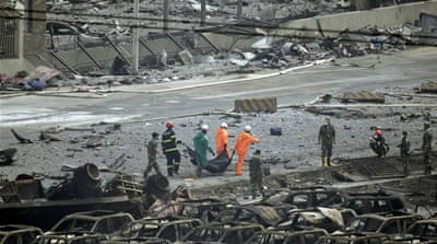China sends chemical experts to Tianjin blast site