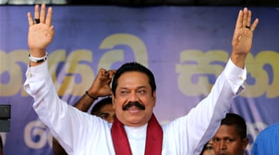 Sri Lanka's ex-leader eyes comeback in parliament polls