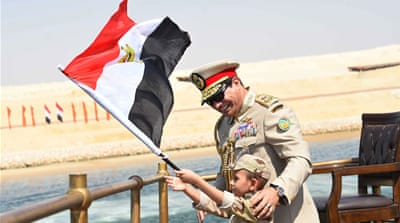 Sisi faces the uncertain promise of Suez