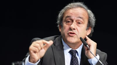 Platini will be running for FIFA presidency [Reuters]