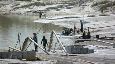 Indonesia's environment devastated by illegal mining