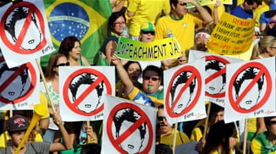 Is Brazil's Dilma Rousseff facing impeachment?