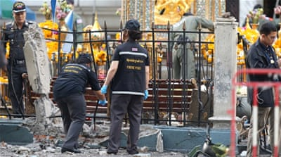 Deadly bomb blast rocks Thailand's capital