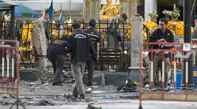 Thailand sets up 'war room' to hunt Bangkok bombers