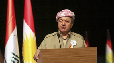 Iraqi Kurds in limbo over president's fate