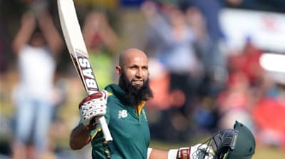 Amla added 185 runs for the second wicket with Rossouw [Getty Images]