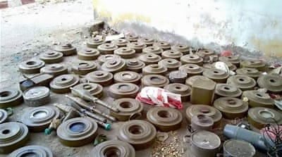 Fearing landmines, displaced Yemenis wary of return