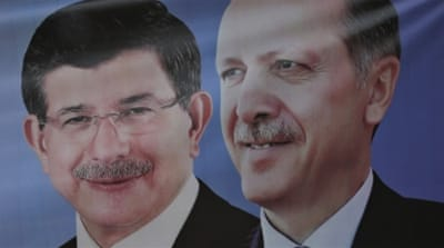 Davutoglu met the leader of the opposition MHP on August 17 in a last-ditch effort to agree a working government [Reuters]