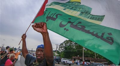 African-American activists endorse boycott of Israel
