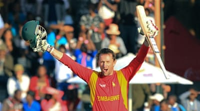 Ervine scored his maiden ODI ton to guide his side home [AP]