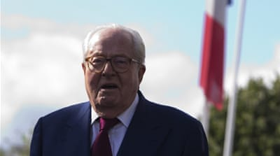 Jean-Marie Le Pen has said he will not vote for his daughter in the 2017 presidential elections [AFP/Getty Images]