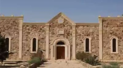 ISIL posted photos showing the destruction of the 1,500-year-old Saint Elian Monastery [via Twitter]