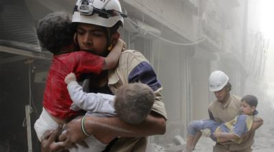 Syria's White Helmets trying... - Al Jazeera English