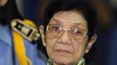 Khmer Rouge's 'first lady' Ieng Thirith dies