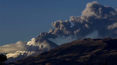 Cotopaxi is considered one of the world's most dangerous volcanoes [AP]