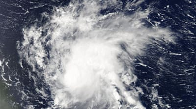 Danny was the first hurricane in the Atlantic since Gonzalo in October last year [AFP/NASA]