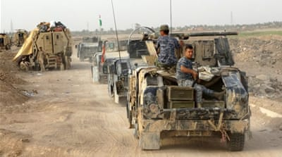 Iraqi forces and loyalists launched an offensive to recapture Anbar province in July [Reuters]