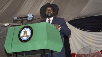 South Sudan president signs peace deal with rebels