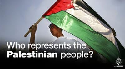 Who represents the Palestinian people?