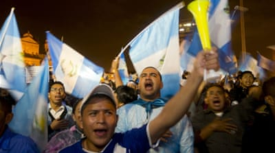 Can corruption be wiped out in Guatemala?
