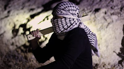 West Bank watchmen on guard for Israeli intruders