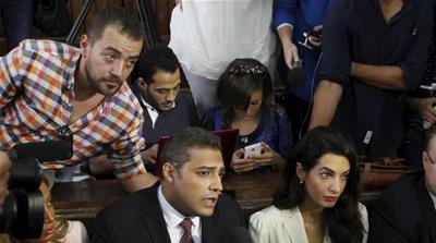 Al Jazeera staff sentenced to jail in Egypt