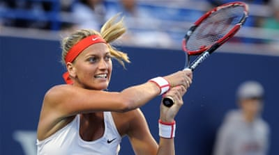 Czech mates Kvitova, Safarova in New Haven final