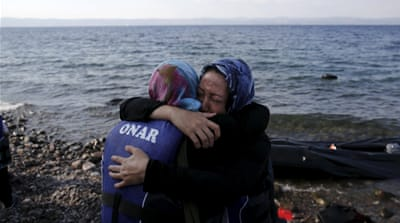 Refugee crisis strains resources on Greek island