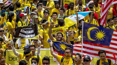 Transparency International called on the Malaysian government to respect the right of citizens to demonstrate peacefully [Reuters]