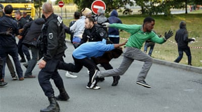 Migrants say they will continue to attempt to cross the Channel Tunnel [Reuters]