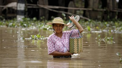 Myanmar inundated by floods