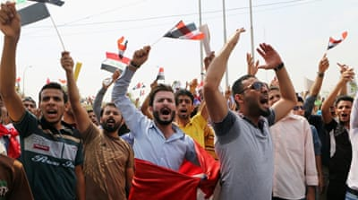 Protesters in Basra accused officials of misusing the city's immense oil wealth [AP]