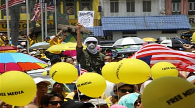 Yellow protesters unafraid calling for PM's resignation