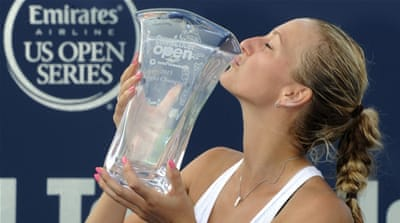 Kvitova overcomes Safarova for New Haven title