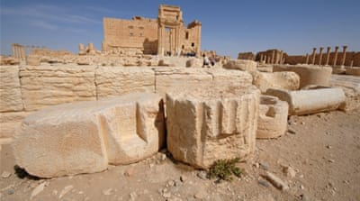 The Temple of Bel was regarded as one of the most significant structures in Palmyra [Reuters]