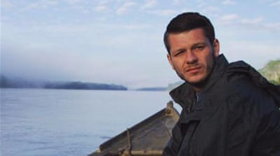 Hanrahan was among four Vice News staff who were detained in Diyarbakir [Twitter]