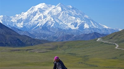The mountain in Denali national park was named Mount McKinley in 1896 by a gold prospector exploring the region [AP]