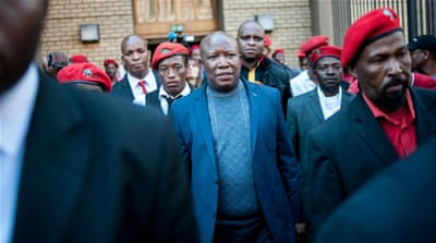 South Africa court dismisses Malema corruption trial