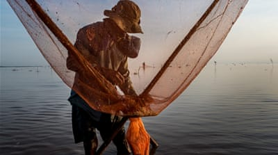 Tonle Sap Lake is in danger of over-fishing due to Cambodia's growing population [Luc Forsyth/Al Jazeera]