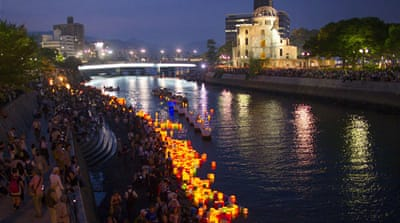 Prayers held as Hiroshima marks 70 years since bomb