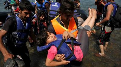 About 124,000 have arrived this year by sea crossing the Mediterranean to Europe [Reuters]