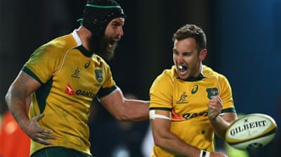 Australia managed to inflict only the third defeat for New Zealand since they won the 2011 World Cup [Getty Images]