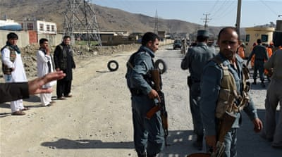 The Taliban claimed responsibility for Thursday's attack in Pul-i-Alam, the capital of Logar province, in eastern Afghanistan [Reuters]