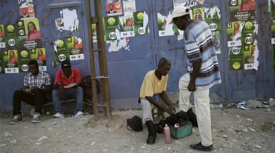Haitians begin voting in long-delayed elections