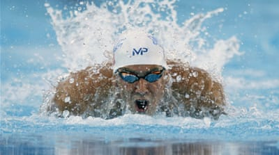 Phelps was banned for six months [AP]