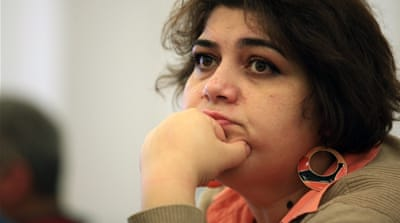 Ismayilova said that she will continue to speak out against her convictions from jail [AP]